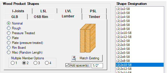 Wood Beams for AEC - Help